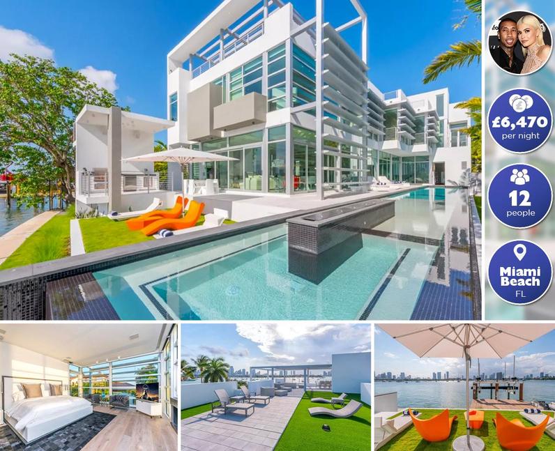 Celebrity Airbnbs - Kylie Jenner & Tyga