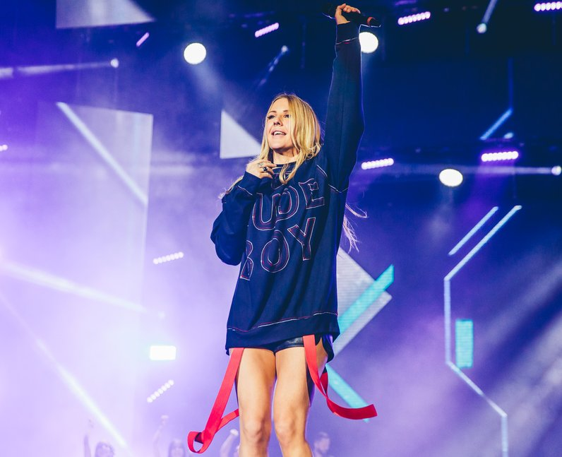 Ellie Goulding Jingle Bell Ball 2016