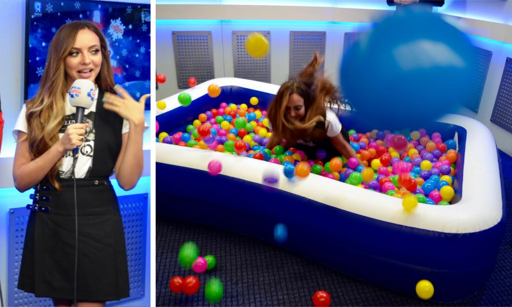 Jade Thirlwall #CapitalJBB Ball Pool
