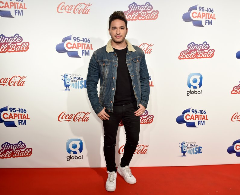 Jonas Blue Jingle Bell Ball 2016 Red Carpet