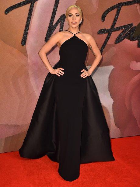 Lady Gaga at the Fashion Awards 2016