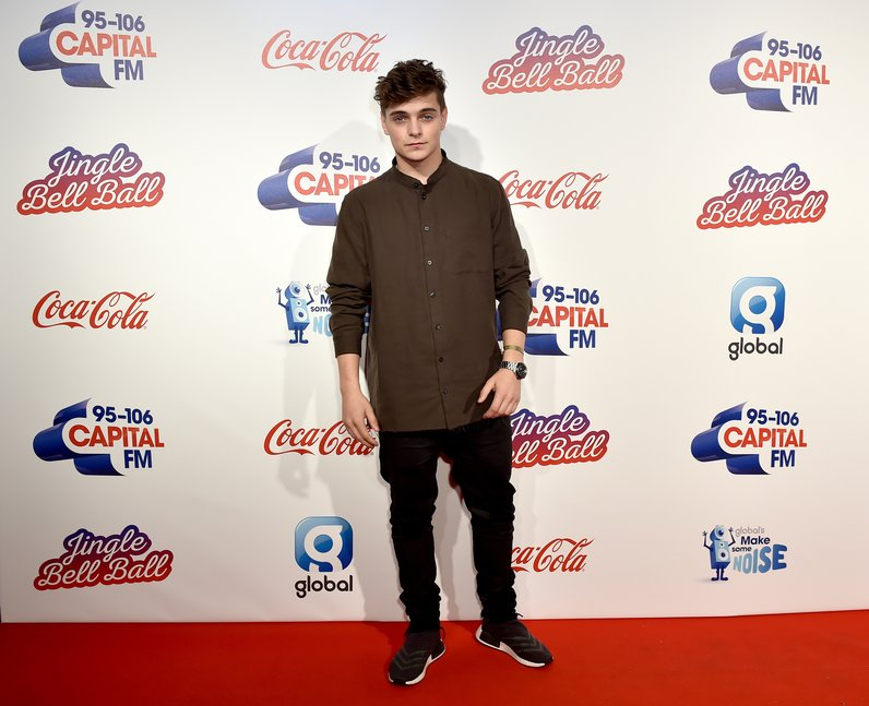 Martin Garrix Jingle Bell Ball 2016 Red Carpet