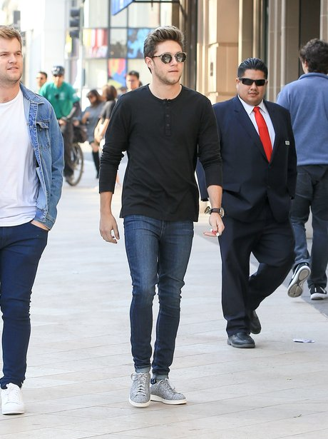 Niall Horan is seen in Los Angeles