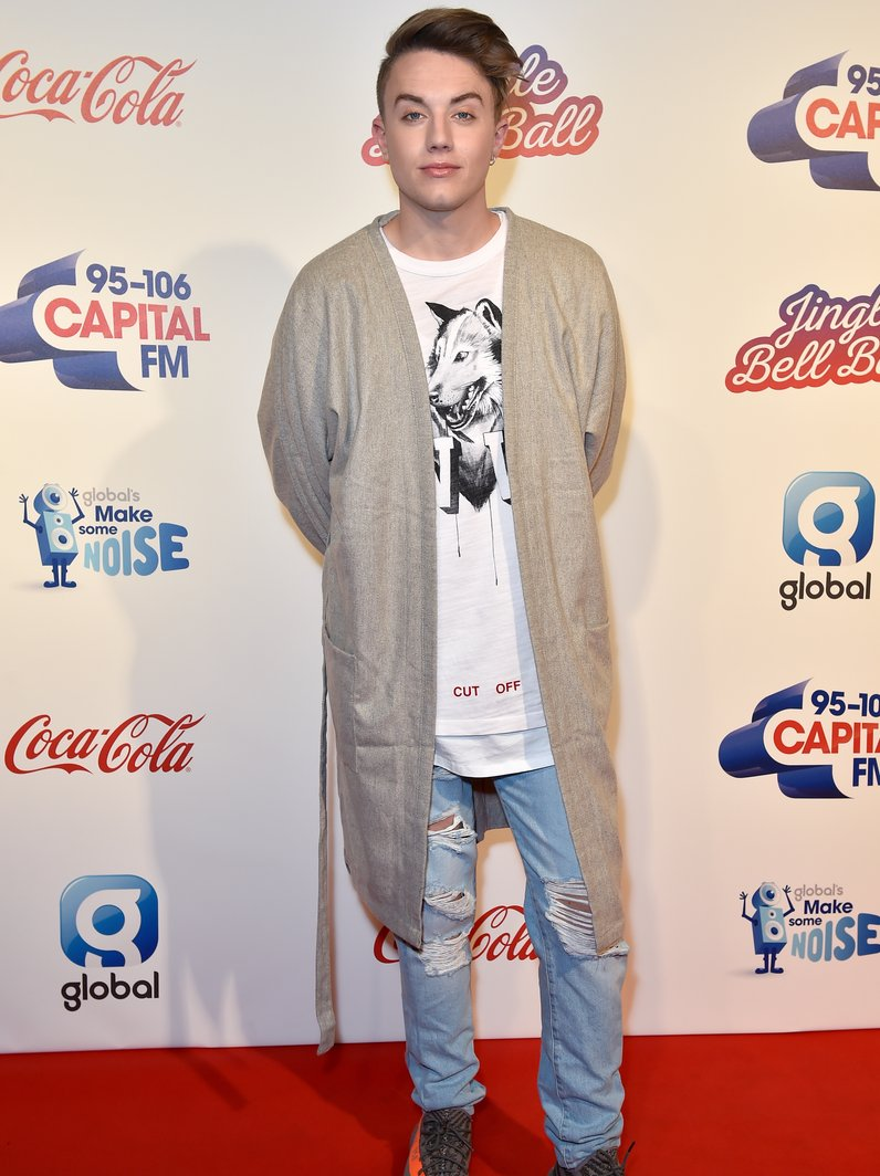 Roman Kemp Jingle Bell Ball 2016 Red Carpet