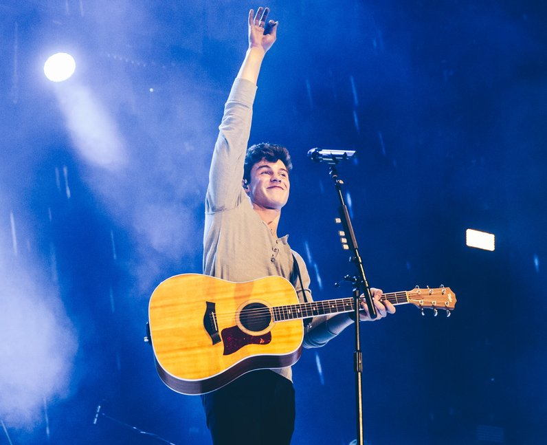 Shawn Mendes Jingle Bell Ball 2016