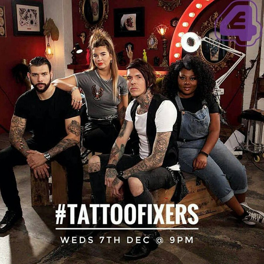 Someone Got An Extreme Pda Tattoo On Tattoo Fixers Its A