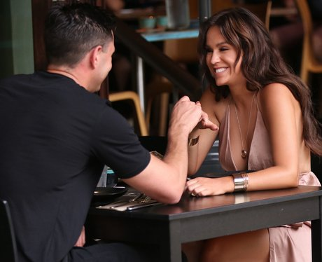 Vicky Pattison looks cosy with her new boyfriend
