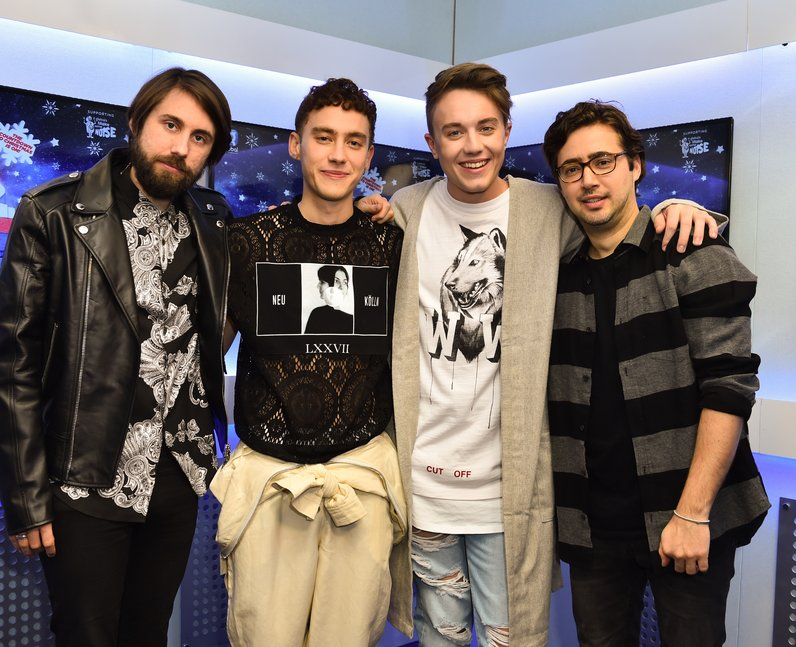 Years and Years Jingle Bell Ball 2016 Backstage