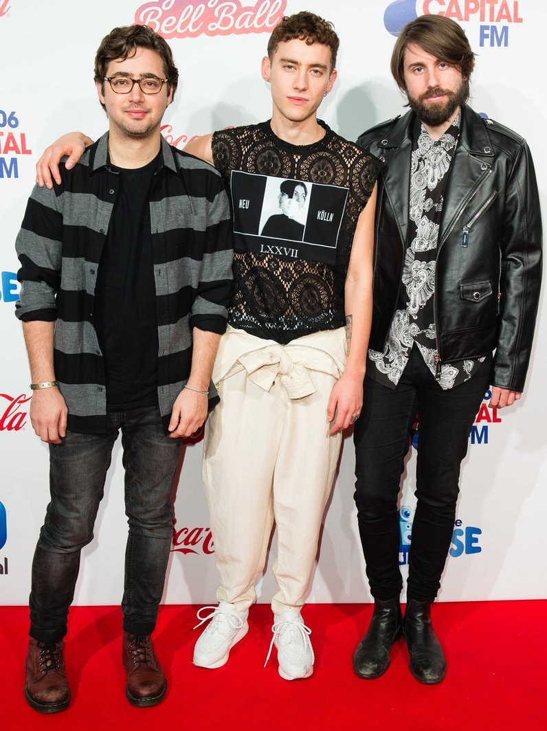 Years and Years Jingle Bell Ball 2016 Red Carpet