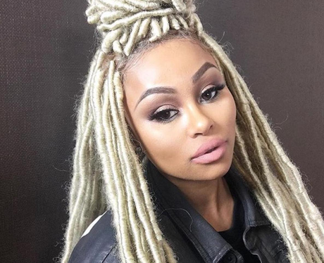 Blac Chyna shows off new dreadlocks hairstyle