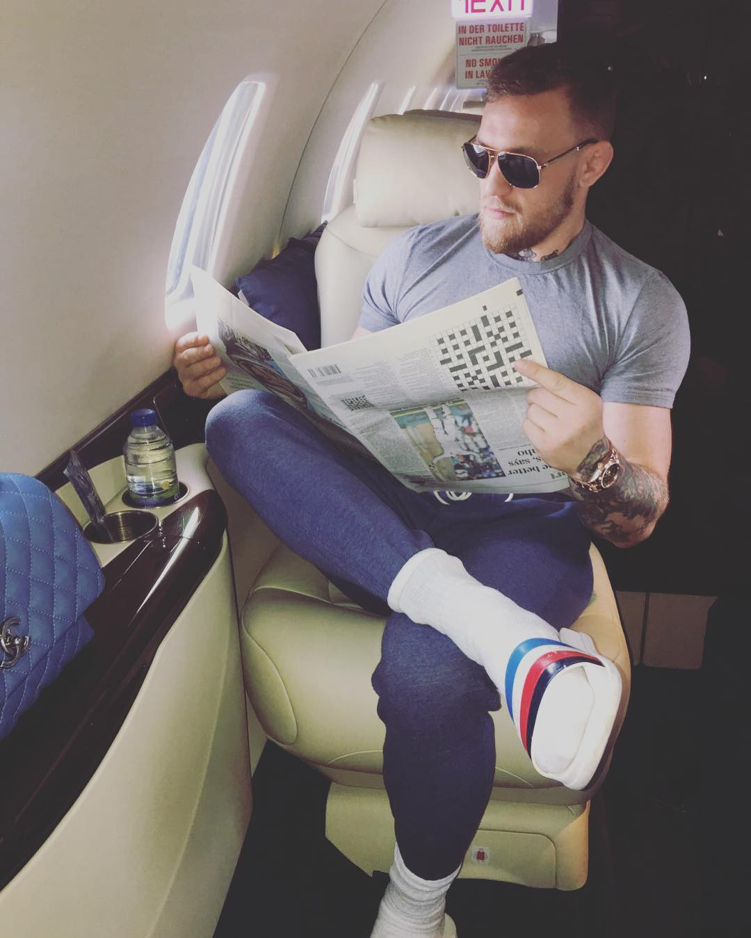 Conor McGregor Instagram Fail
