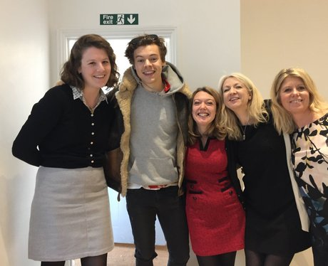Harry Styles visits a recruitment agency