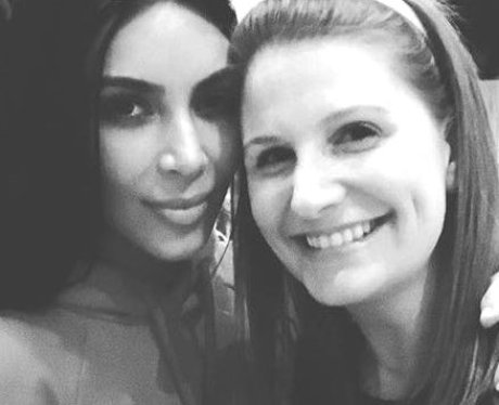 Kim Kardashian attends friends Christmas party and