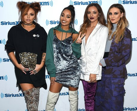 Little Mix on the promo tour in America