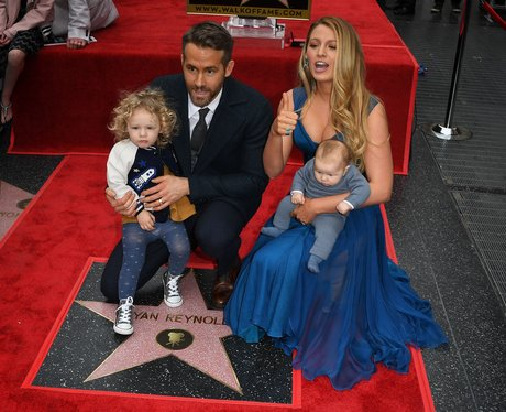 The Reynolds' family attend Ryan's Hollywood Walk