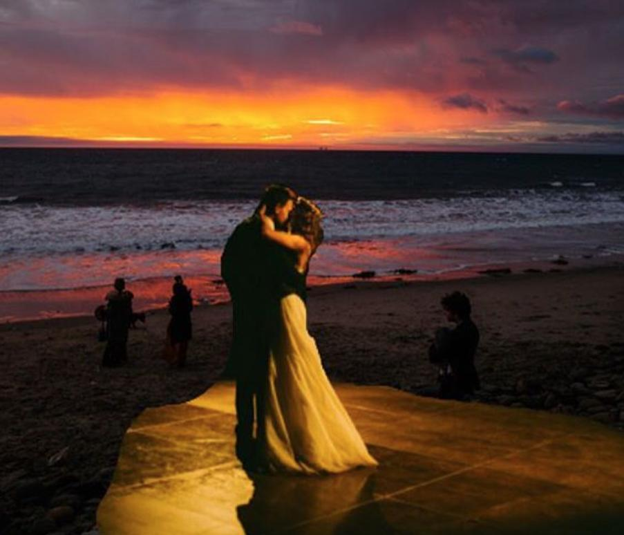 Troian Bellasario Wedding
