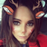 Image 7: Cheryl poses with the festive Snapchat filter