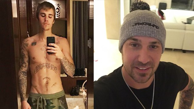 Justin Bieber Has Been Sharing Shirtless Selfies With The Insta World This Whole Capital