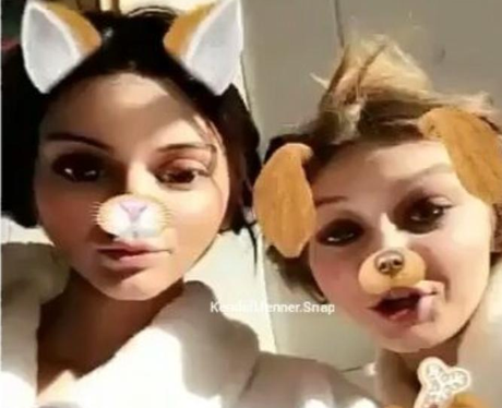 Kendall and Gigi's final shoot of the year