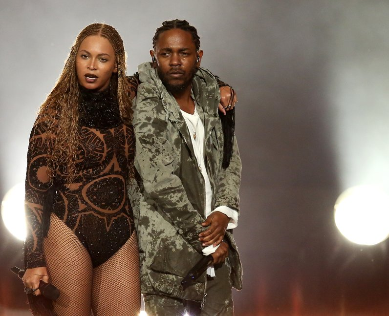 Best Live Photos 2016 Beyonce and Kendrick Lamar B