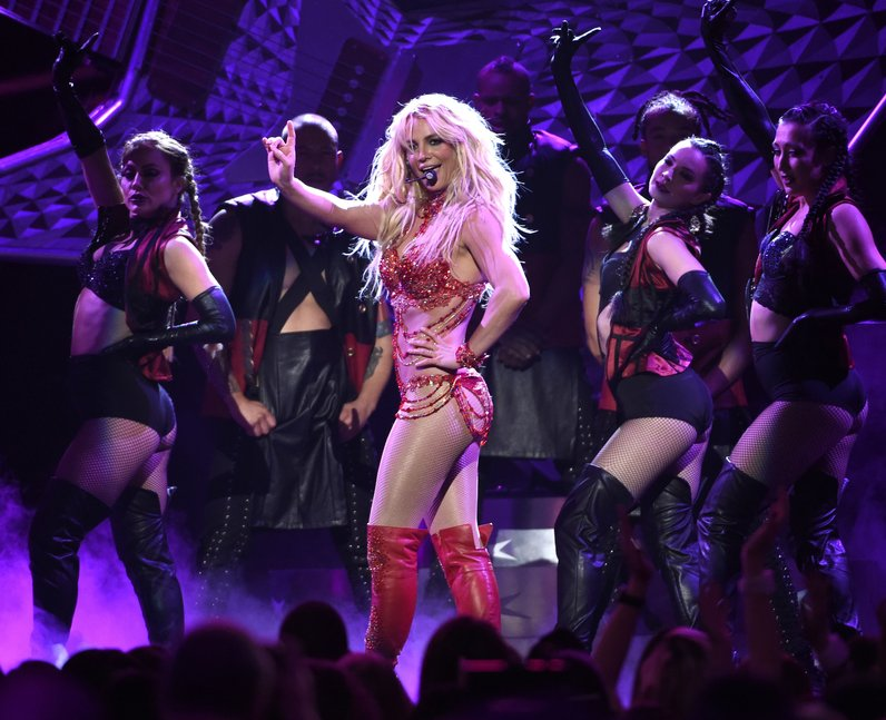 Best Live Photos 2016 Britney Spears VMAs