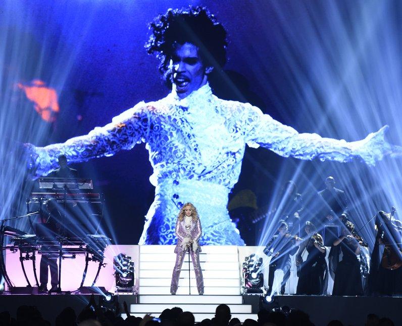 Best Live Photos 2016 Madonna Prince Tribute Billb