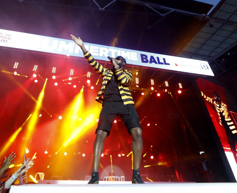 Best Live Photos 2016 Tinie Tempah