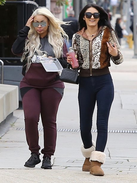 Blac CHyna out and about with pals amid rumours th