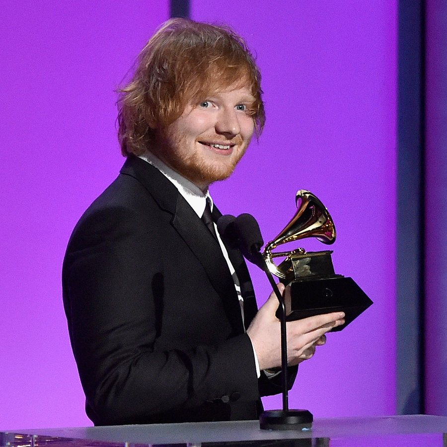 Ed Sheeran The 58th GRAMMY Awards