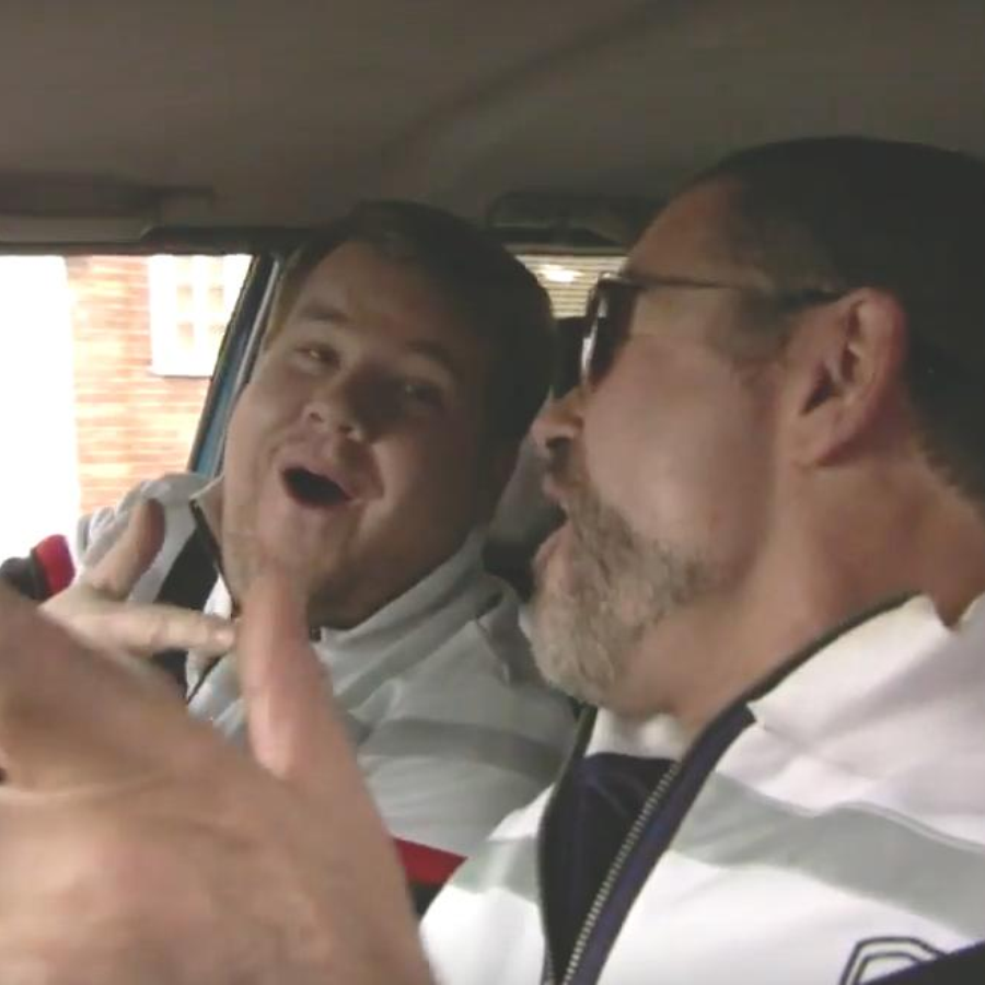 James Corden and George Michael Carpool Karaoke
