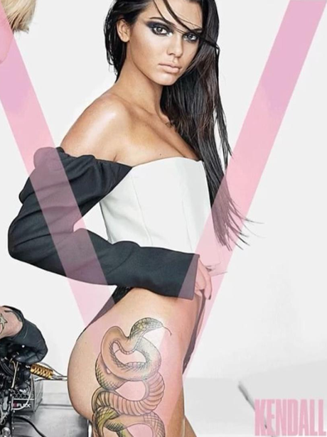 Kendall Jenner on the cover of V Magazine
