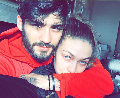 Zayn Malik and Gigi Hadid cosy up for another self