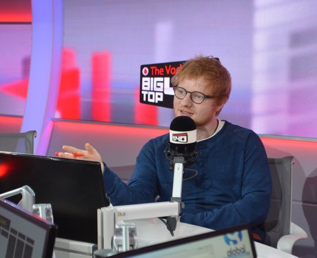 Ed Sheeran Big Top 40 Studio 2