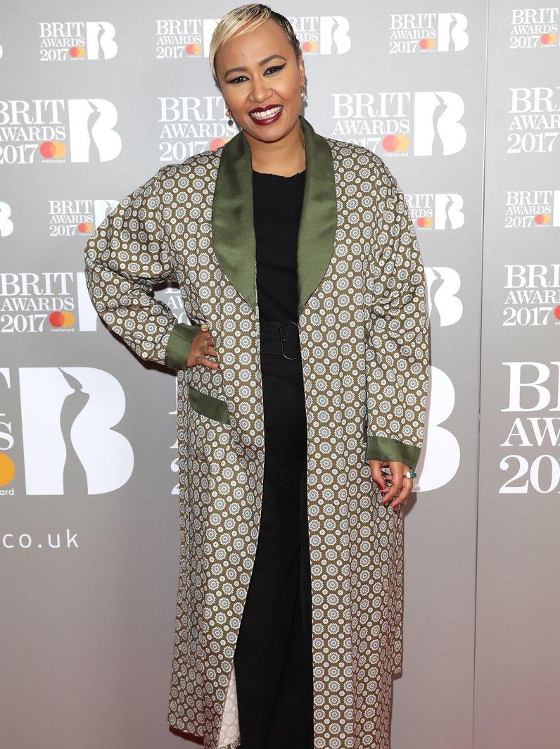 Emeli Sande BRIT Awards 2017 Nominations Party