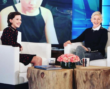 Millie Bobby Brown Fanclub Ellen DeGeneres