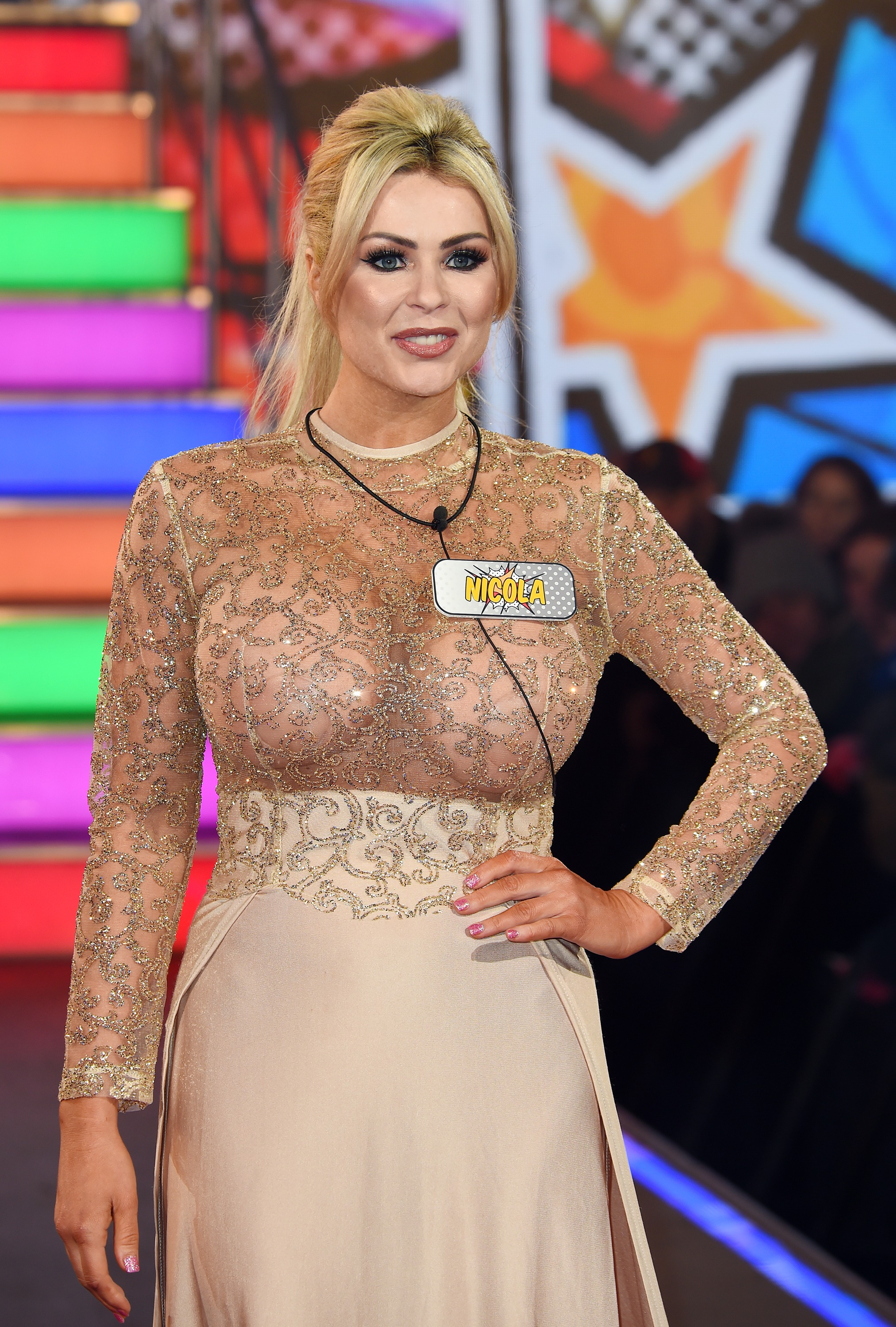 Nicola McLean at Celebrity Big Brother - Contestan