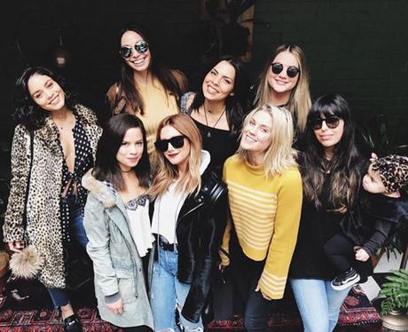 Ashley Tisdale and Vanessa Hudgens reunite for bru