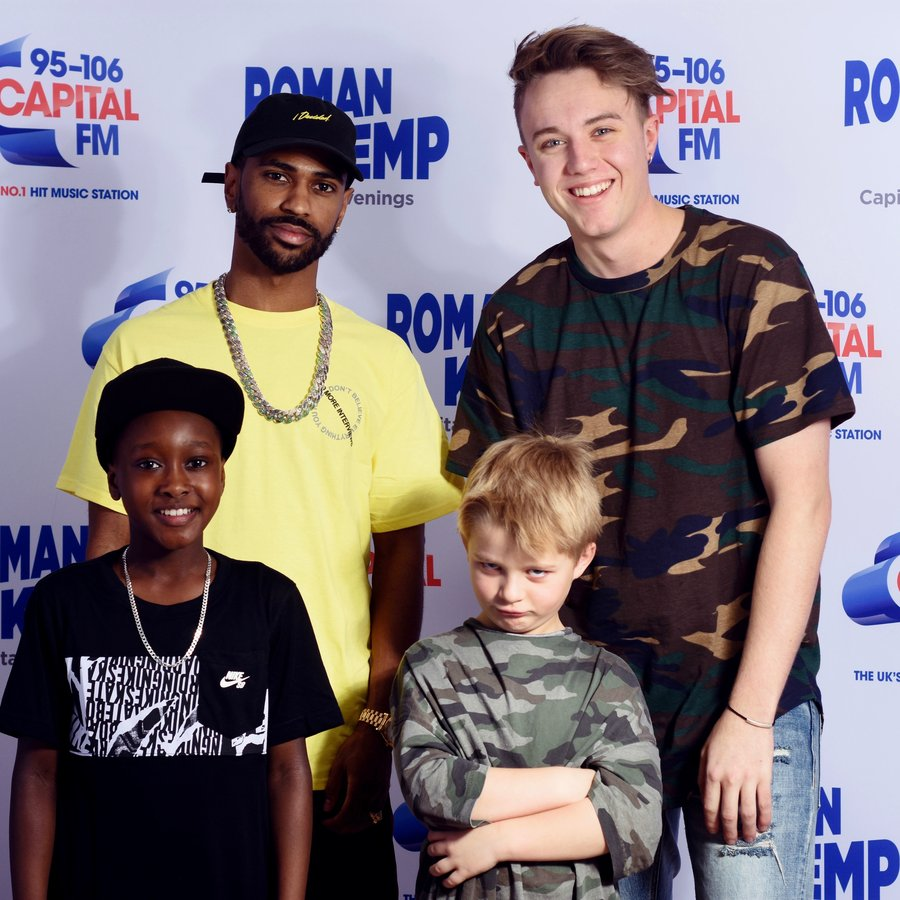 Big Sean and Roman Kemp