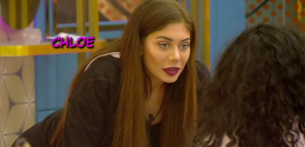 Chloe Ferry SNUBS the Celebrity Big Brother final