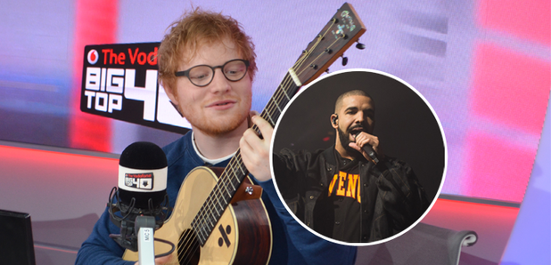 WATCH: Ed Sheeran Covered Drake's 'One Dance' & It Is PERFECT - Capital