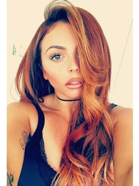 Jesy Nelson dyes her hair red after celebrating BR