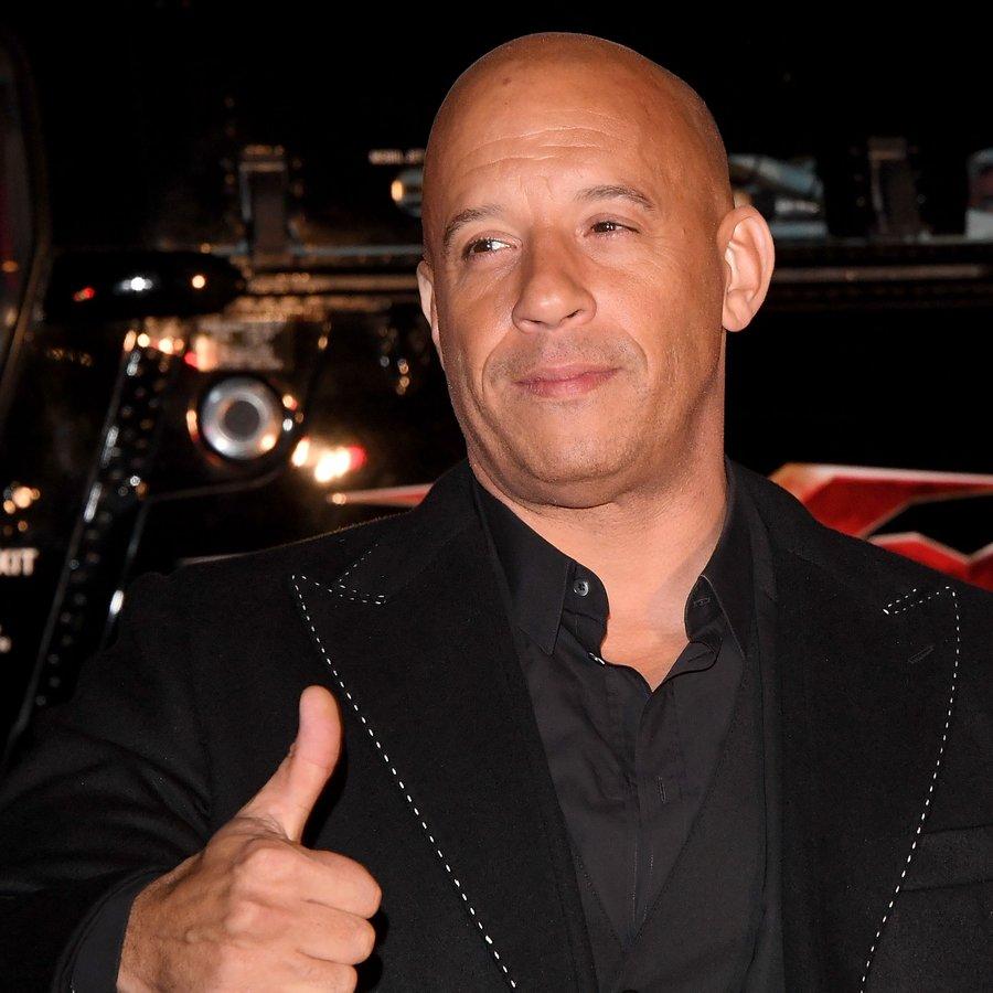 Vin Diesel Paramount Pictures' 'xXx: Return of Xander Cage' - European Premiere