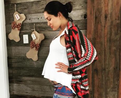 Brie Bella Pregnancy Photos