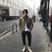 Image 6: Brooklyn Beckham poses on the London streets