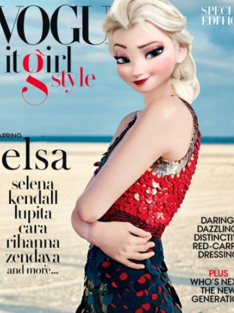 Disney Princesses as models Instagram