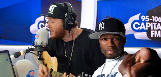 WATCH: James Arthur NAILED His Acoustic Version Of 50 Cent's 'In Da