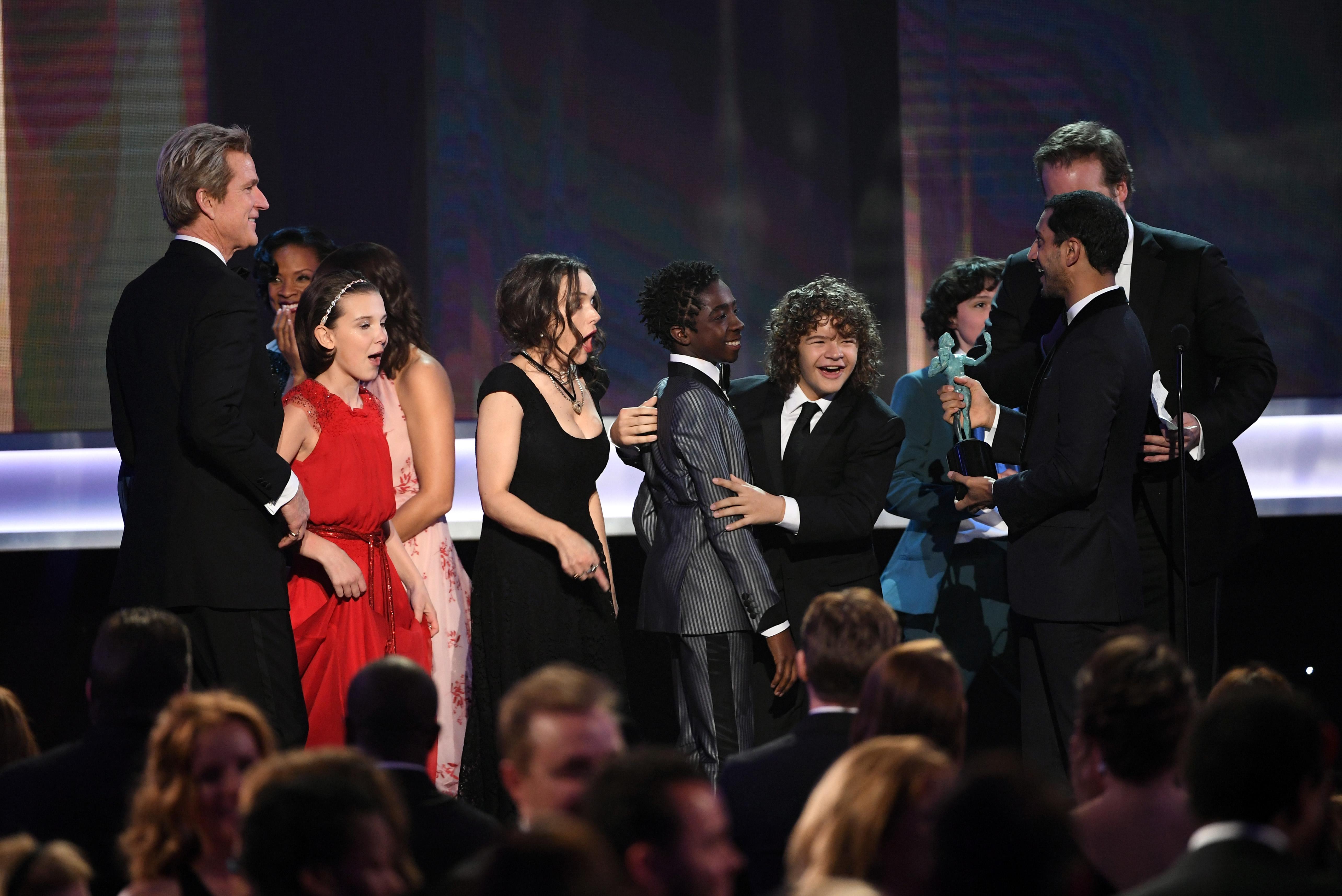 Stranger Things at the SAG Awards