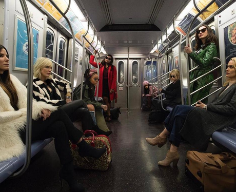 The first Oceans Eight photo is here