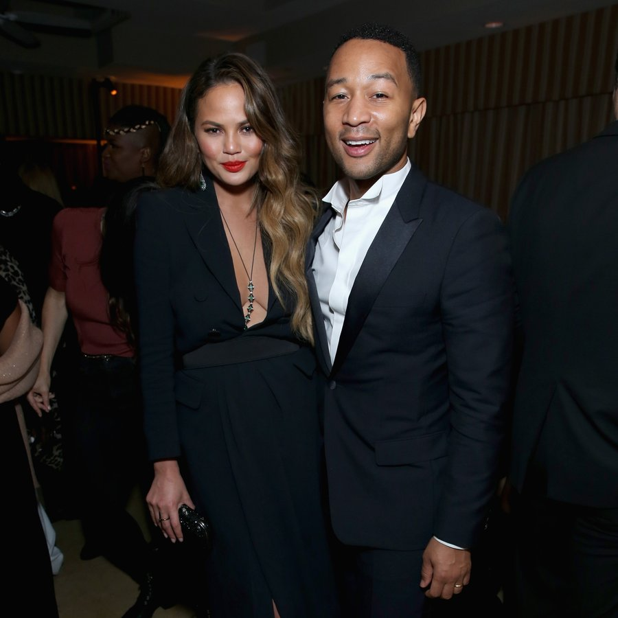 Chrissy Teigen and John Legend The Weinstein Company & Netflix's 2017 SAG After Party