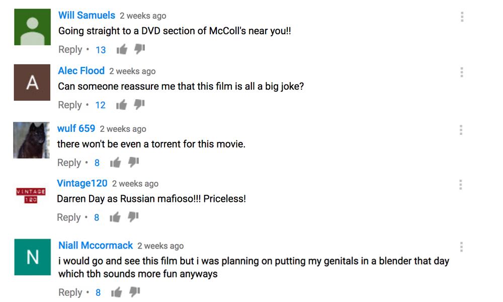 Dangerous Game Comments 1